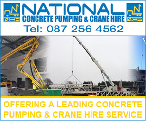 NATIONAL CONCRETE PUMPING & CRANE HIRE