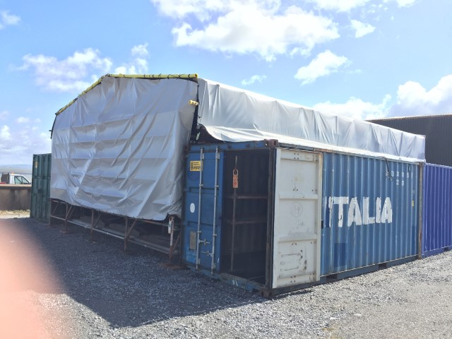 Cover for Temporary on-site Storage Area! Gallery Image
