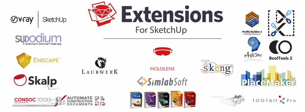 SketchUp Pro Extensions Sales and Training Gallery Image