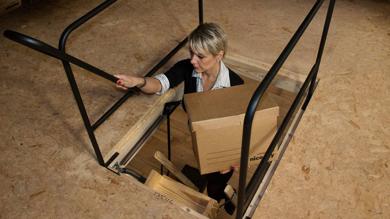 Stira Folding Attic Stairs Co Galway Staircases Attic