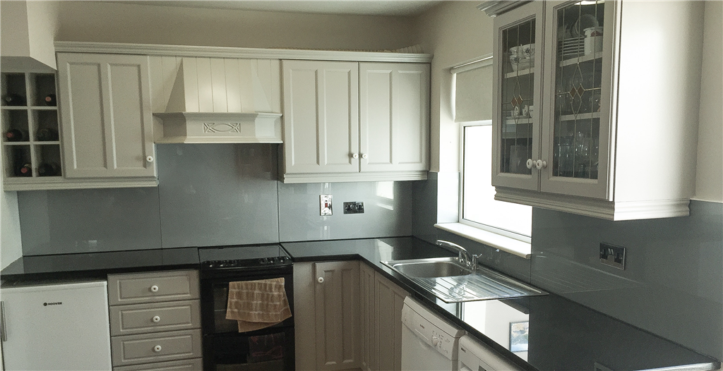 Grey Kitchen Splashback Gallery Image