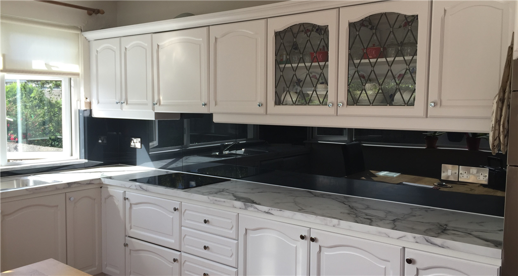 Dark Grey Kitchen Splashback Gallery Image