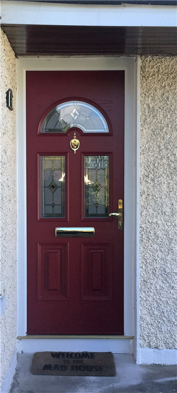 Red Composite Door Gallery Image