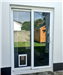 Medium Dog Flap in Glass Door Gallery Thumbnail