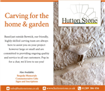 We do Carving for the Home & Garden. Gallery Thumbnail