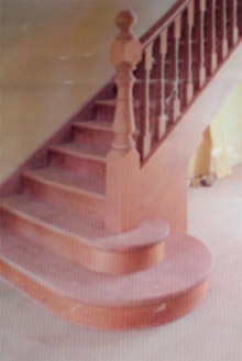 Bespoke wooden staircases Gallery Image