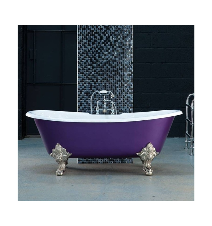 Milan Cast Iron Double Ended Roll Top Bath Gallery Image
