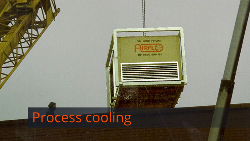 Temporary cooling Gallery Image