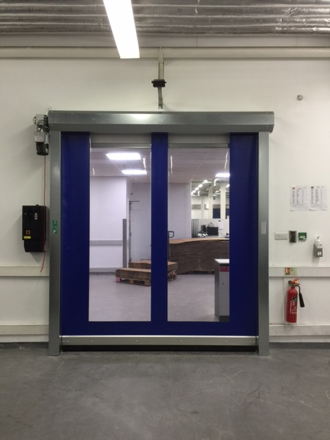 Efalex High Speed Door supplied and installed by Cobra Automation Gallery Image