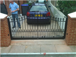 small driveway automated sliding gate Gallery Thumbnail