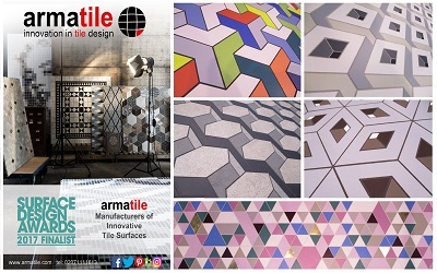 Armatile manufacture bespoke tile surfaces for designers and architects throughout Ireland, UK and World #MadeByArmatile Gallery Image
