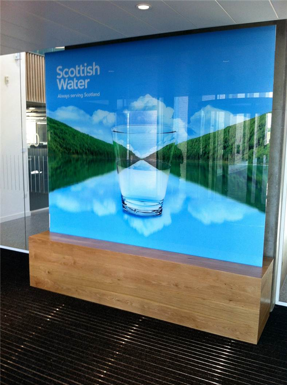 Digitally Printed Glass Screen Gallery Image