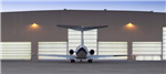 Megadoor hangar doors work seamlessly for large openings, particularly for shipyards and aircraft hangars. Gallery Thumbnail