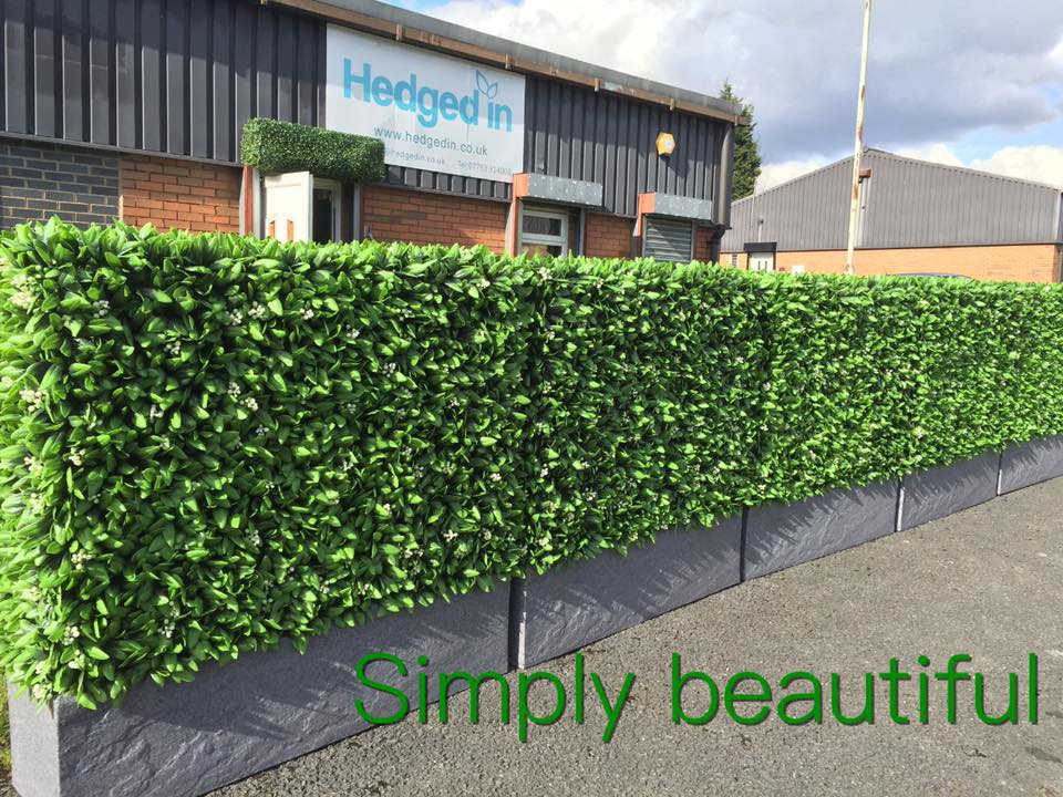 Bespoke instant hedge planters for events and roof garden Gallery Image