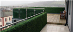 artificial hedge for balcony privacy screening Gallery Thumbnail