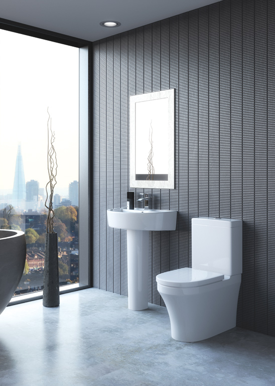 Kia Toilet & Basin With Pedestal Gallery Image
