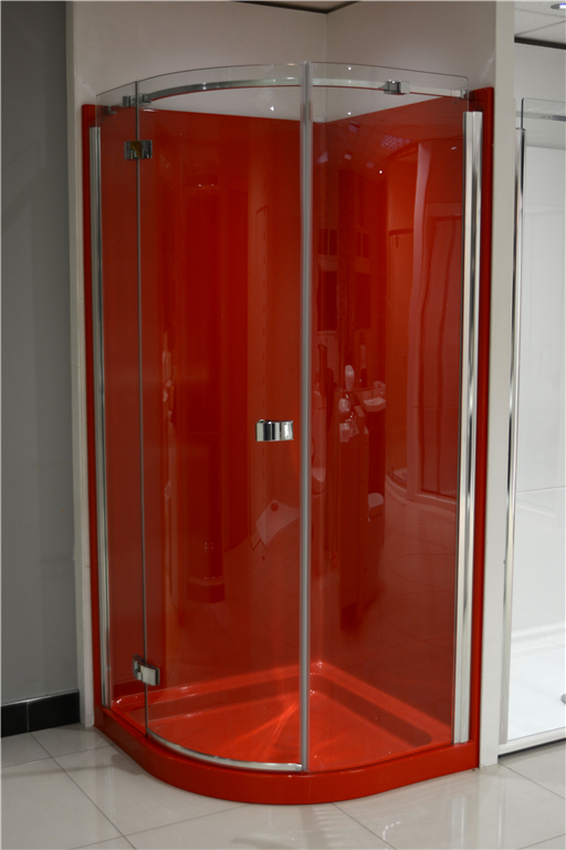Red Granite Leak Proof ShowerPod Gallery Image