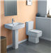 Atone Toilet & Basin With Pedestal  Gallery Thumbnail