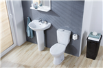 Senator Arteca Toilet & Basin With Pedestal Gallery Thumbnail