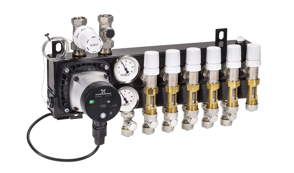 Robot Optimum Flow Compact Manifold Gallery Image