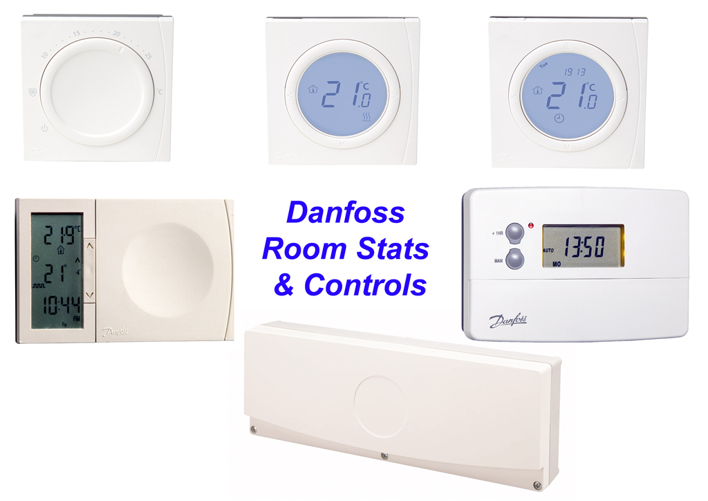 Danfoss room thermostats & Controls, Robot Underfloor Heating Gallery Image