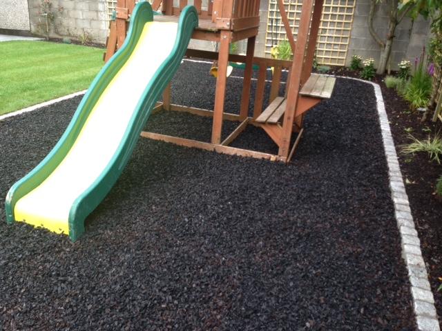 Artificial grass artificial hedging ire anti slip for Garden decking kildare