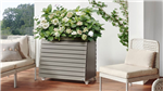 GreenBox planter is an ideal way to add style to a balcony or patio. The bottom section discretely stores cushions or gardening equipment - visit www.gardenfx.ie for more information.    Gallery Thumbnail