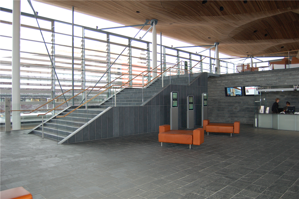 Stairs in Welsh Assembly, Cardiff Gallery Image