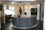Kitchen with curved silestone panels Gallery Thumbnail
