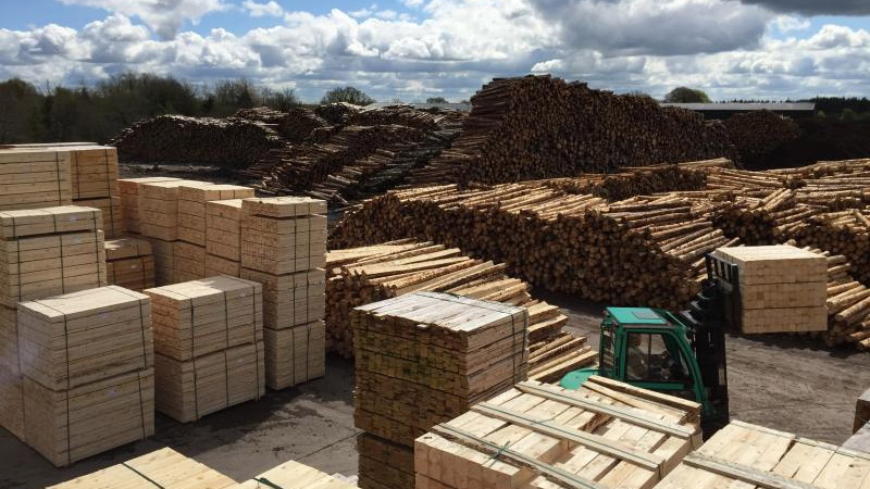 Coolrain Sawmills Strives To Manufacture And Deliver Of