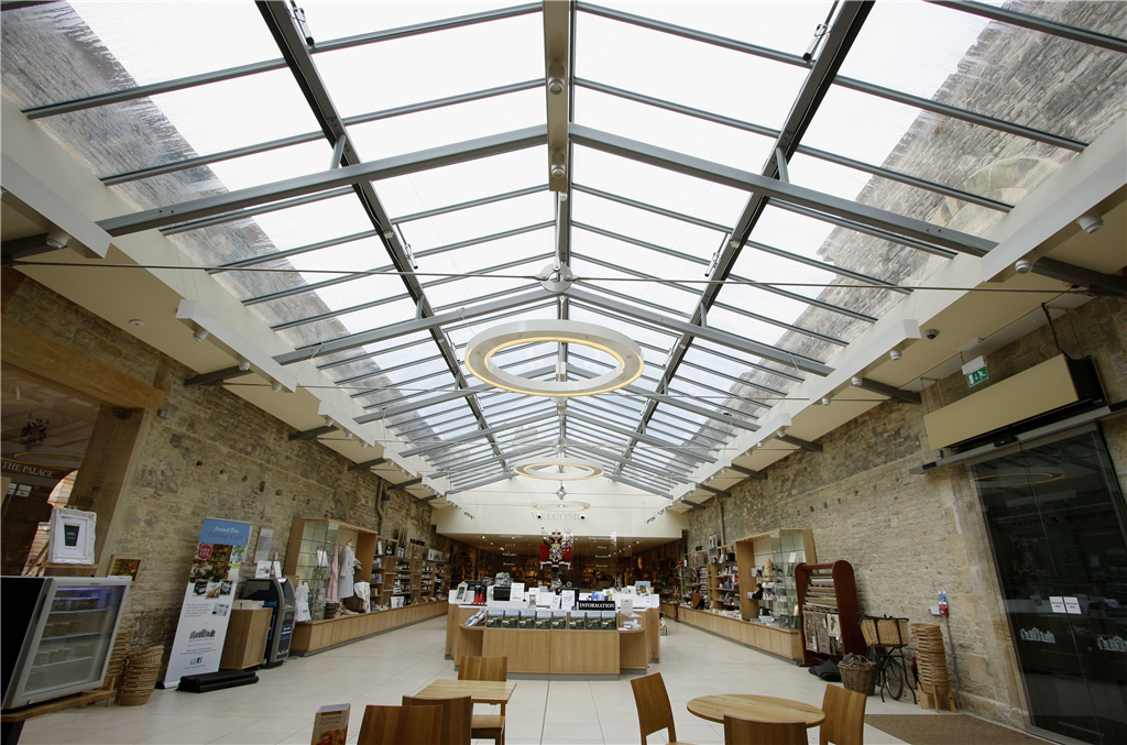 Commercial frost protection project - Blenheim Palace Gallery Image