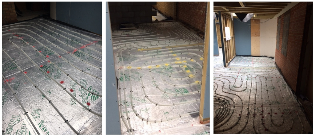 Commercial wet underfloor heating project - Woolpit, Suffolk Gallery Image