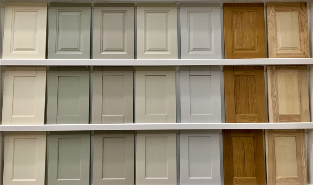 Timber doors (oak and ash), painted, sanded and varnished. Gallery Image