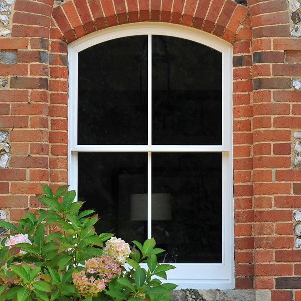 Arched Timber Sash Windows Gallery Image
