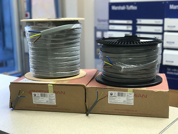 Dolphin Elecectrical Wholesale stock new Twin & Earth Cable T&E NO5VVH4-U Gallery Image