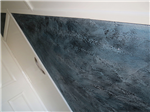 Textured feature in hallway with metallic waxes Gallery Thumbnail