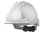 Helmet EVO3 Wheel Vented White c/w Reflective Decals En397 Gallery Thumbnail