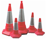 PVC Road Cones Gallery Thumbnail