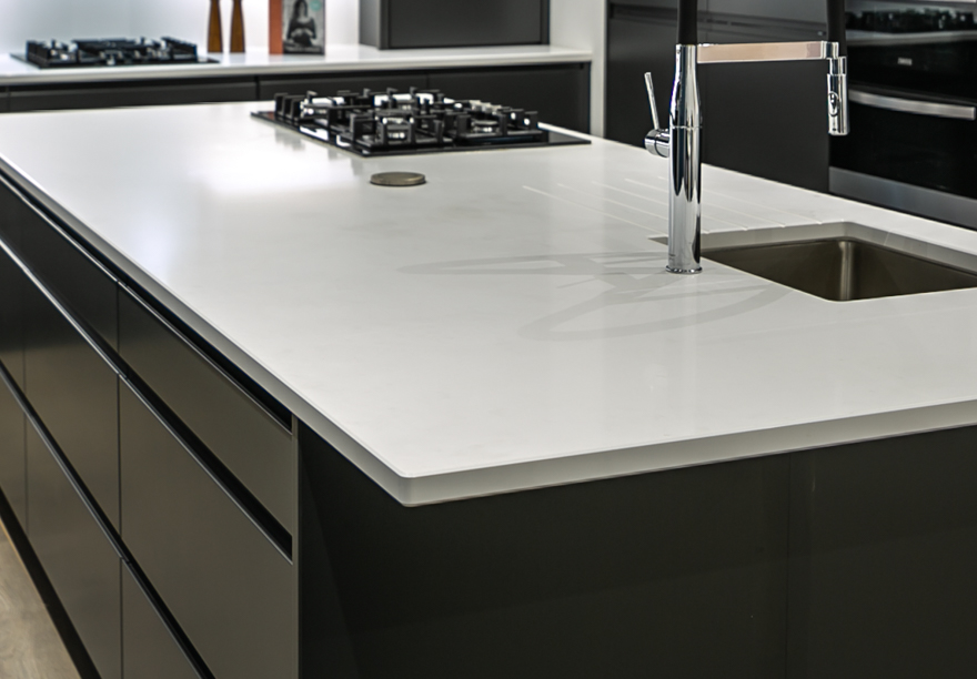 Cimstone Hierapolis Quartz, Kitchen worktops, Manchester Gallery Image