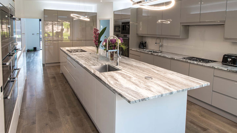 Fantasy Brown Granite worktops, Manchester Gallery Image