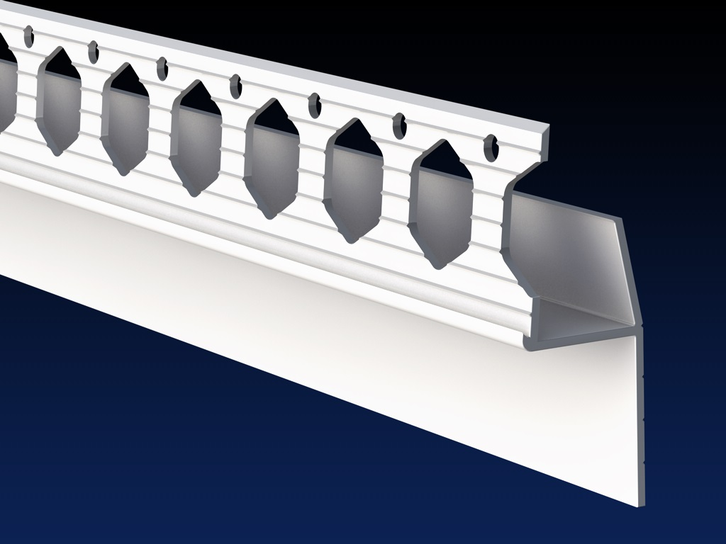 Renderplas PVC Architrave Shadow Gap - 'L' profile - SGL20 Gallery Image