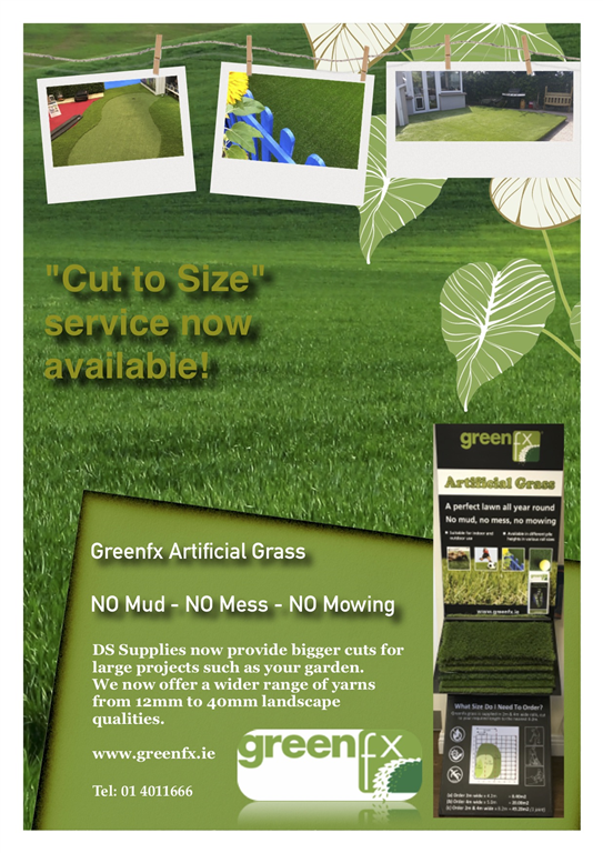 NO MUD - NO MESS - NO MOWING