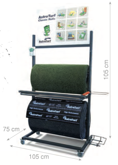 AstroTurf scraper matting by the metre.... available in Classic Green or Titanium Grey.  Gallery Image