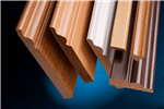 EUTR certified Foil wrapped Mdf mouldings, many colours available.  Gallery Thumbnail