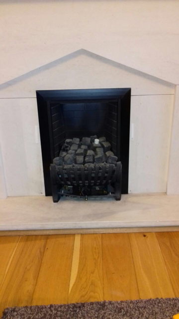 Gas fire servicing Gallery Image