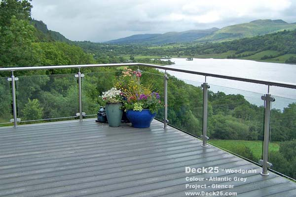 Composite Decking - Deck25 - Grand Design - Grey Gallery Image