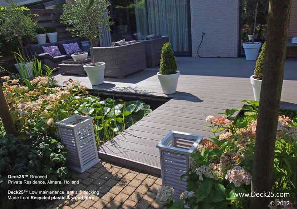 Composite Decking - Deck25 - Grey - Holland Gallery Image