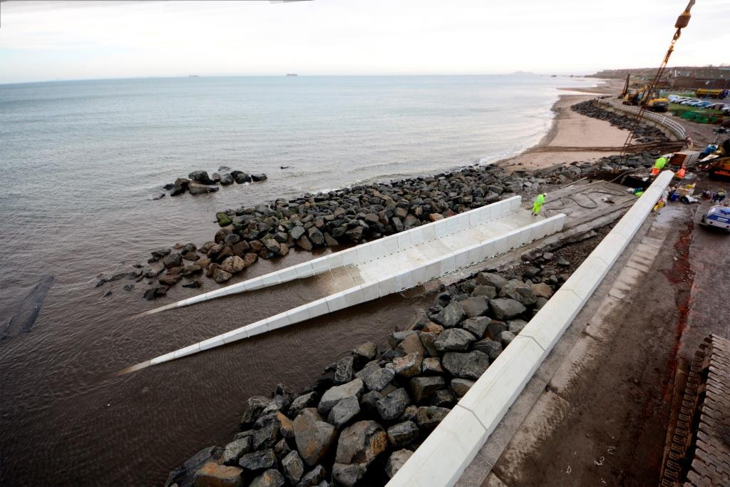 Coastal Defence & Slipway  Gallery Image
