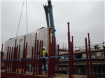 Timber Frame house on site off site loading unloading Gallery Thumbnail