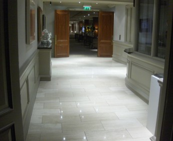 Travertine Floor - After Gallery Image